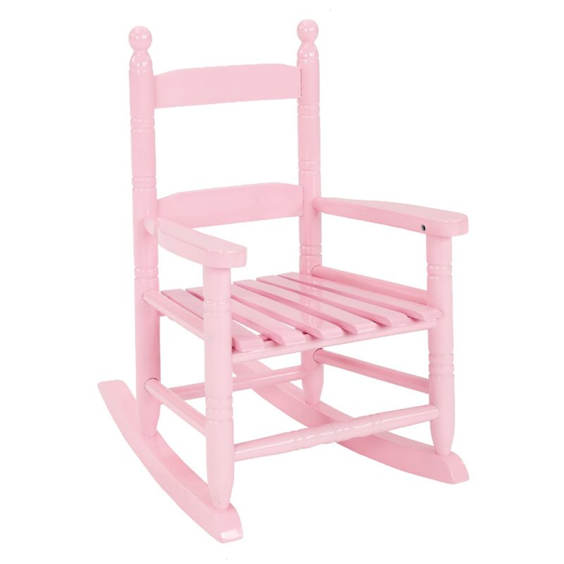 Excellent Kids Rocking Chair Pastel Pink Dailytribune Chair Design For Home Dailytribuneorg